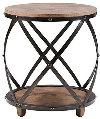 Madison Home USA Cirque Bent Metal Accent Table