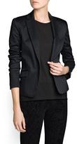 MANGO Tailored suit blazer
