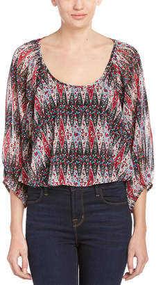Lucca Couture Sheer Blouse
