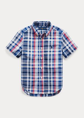 Ralph Lauren Cotton Madras Shirt