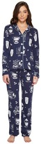 PJ Salvage But First, Coffee PJ Set Women's Pajama Sets