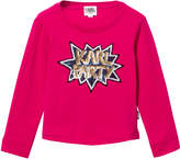 Karl Lagerfeld Hot Pink Party Sequin Tee