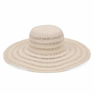 Ale By Alessandra Women's Ventana Sunhat in Eggshell Adjustable