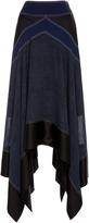 Diane von Furstenberg Asymmetric Midi Skirt