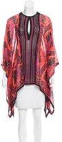 Roberto Cavalli Silk Short Sleeve Kaftan w/ Tags
