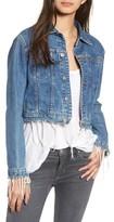 Hudson Women's Garrison Crop Denim Jacket