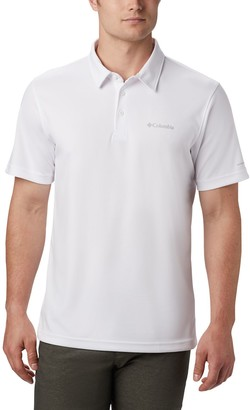 Columbia Men's Mist Trail Omni-Wick Performance Polo