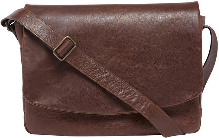 "Moore & Giles Fine Leather Classic Messenger Bag ""Sackett"""