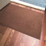 Bed Bath & Beyond Microfibre® Low Profile Squares 2-Foot x 3-Foot Door Mat