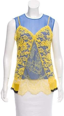 Altuzarra Silk Lace Top w/ Tags