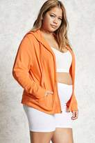 Forever 21 FOREVER 21+ Plus Size Zip-Up Hoodie