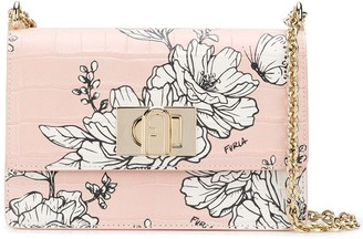 Furla Pillow floral shoulder bag