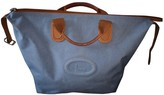 Lancel Blue Cloth Travel bags