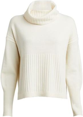 Derek Lam 10 Crosby Bond Wool-Cashmere Turtleneck Sweater