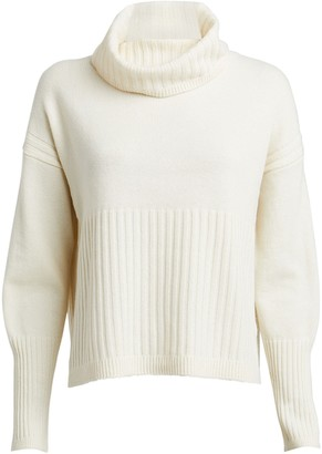 Derek Lam 10 Crosby Bond Wool-Cashmere Turtleneck Sweater
