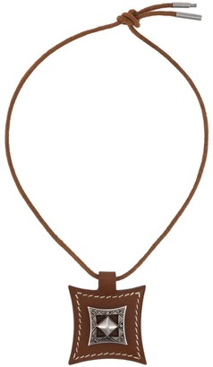 Hermes 2000s pre-owned Touareg necklace