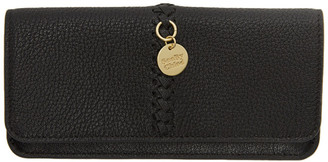 See by Chloe Black Tilda Long Flat Wallet