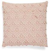 Thro Lace Throw Pillow