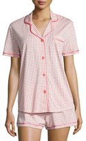 Cosabella Bella Printed Short-Sleeve Shorty Pajama Set
