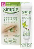 Simple Kind to Eyes Soothing Eye Balm 15 ml - Pack of 3