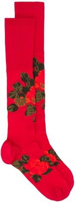 Simone Rocha Floral-Motif Knitted Socks