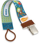 Bed Bath & Beyond ulubuluTM Personalized Pacifier Clip in Robonaut