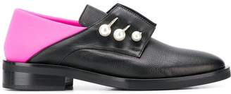 Coliac colour-block loafers