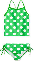 Kanu Surf 2-Pc. Dot-Print Tankini Swimsuit, Big Girls (7-16)