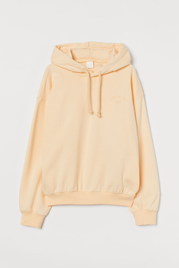 Thumbnail for your product : H&M Cotton-blend Hoodie - Yellow