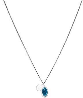 Miansai Fortuna Sterling Silver Pendant Necklace, 12