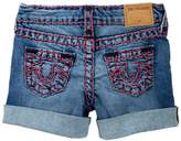 True Religion Boyfriend Super T Shorts (Toddler & Little Girls)