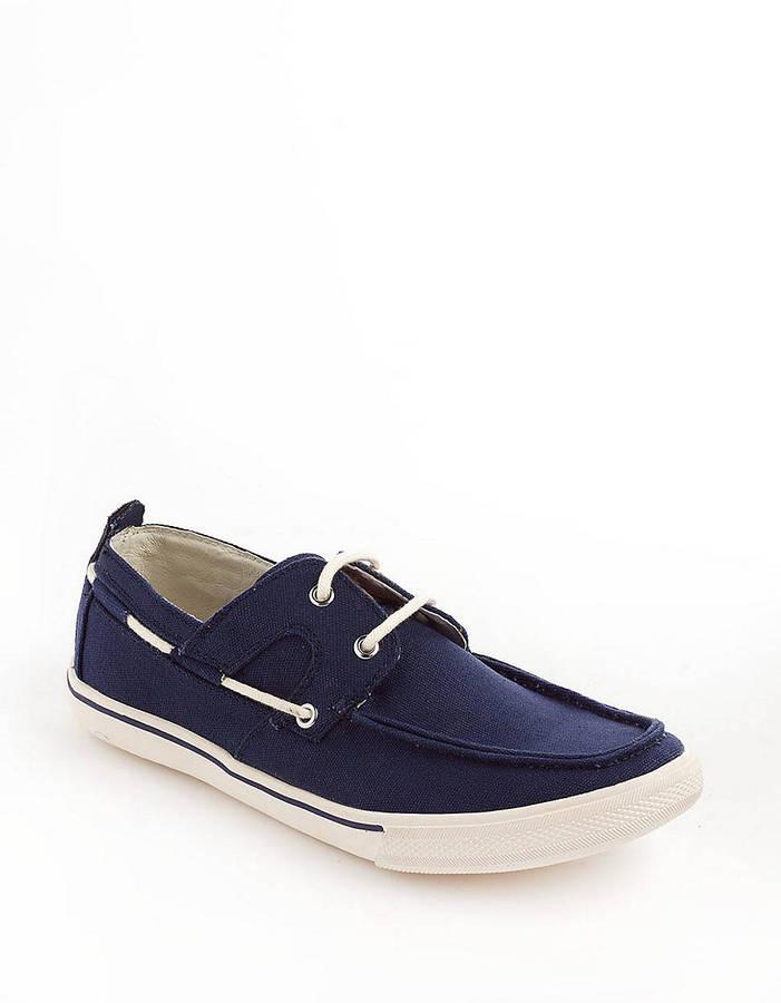 Tommy Bahama Calderon Canvas Boat Shoes
