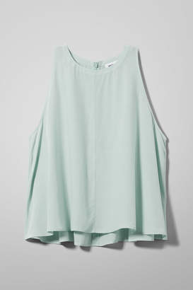 Weekday Vitra Top - Turquoise