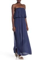 BOHO ME Strapless Maxi Cover-Up Dress