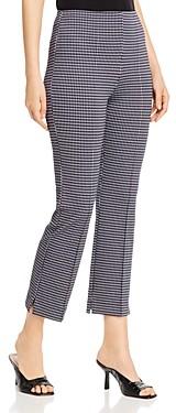Lysse Harley Houndstooth Print Ponte Cropped Leggings