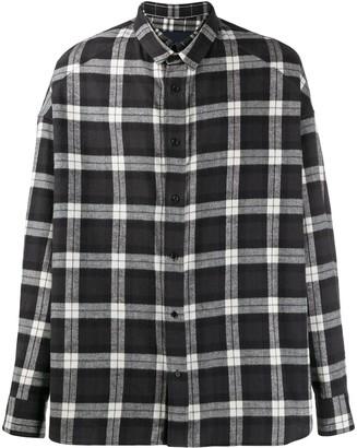 Juun.J checked cotton shirt