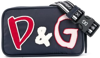 Dolce & Gabbana Kids Logo Applique Cross-Body Bag