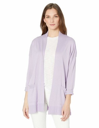 Chaps Women's Long Sleeve Cotton Modal Open Front Cardigan
