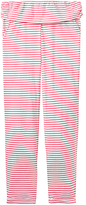 Joules Estrella Striped Pyjama Bottoms, Pink/Multi