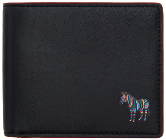 Paul Smith Black and Red Zebra Billfold Wallet
