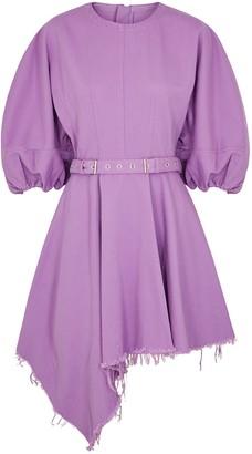 Marques Almeida Marques' Almeida MARQUES' ALMEIDA Purple Belted Denim Mini Dress