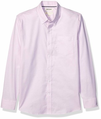 Goodthreads Amazon Brand Men's Standard-Fit Long-Sleeve Wrinkle Resistant Comfort Stretch Oxford Shirt with Easy Care