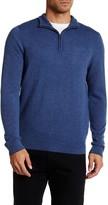 BROLETTO Feeder Stripe Quarter Zip Cashmere Sweater