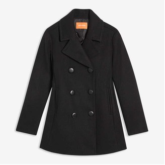 Joe Fresh Women's Pea Coat, JF Black (Size M)