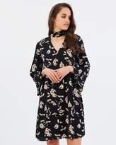 Forcast Rae Choker Dress