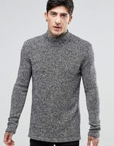 Dr Denim Archie High Neck Jumper