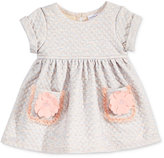 Sweet Heart Rose Baby Girls' Quilted Flower-Pocket Dress