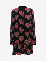 Alexander McQueen Poppy Print Shirt Dress