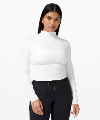Lululemon All Aligned Mock Neck Long Sleeve *Nulu