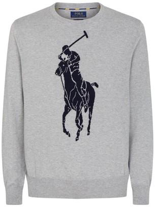 Ralph Lauren Big Polo Pony Cotton Sweatshirt